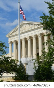 The United States Supreme Court Building in Washington D.C.