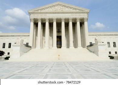 United States Supreme Court building in Washington, DC.