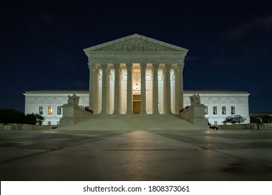 United States Supreme Court at Night