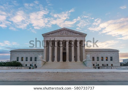 The United States Supreme Court in Washington, DC.