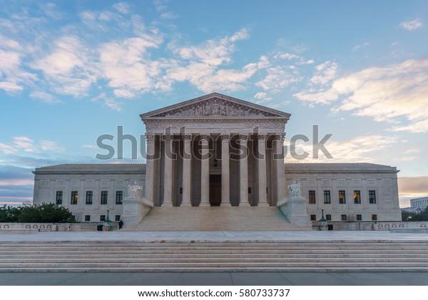 The United States Supreme Court in Washington, DC.
