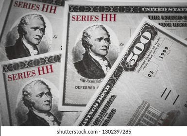 United States Treasury Savings Bonds - Issued by the US Government, Series HH Bonds are no longer issued but are used to compound interest tax-free and can we an investment tool for retirement.