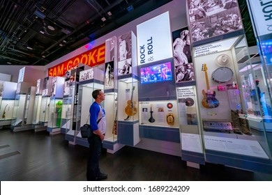 United States, Washington - September 21, 2019: The National Museum of African American History and Culture is a Smithsonian Institution museum located on the National Mall, its opened by Barack Obama