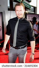 UNIVERSAL CITY, CA - OCTOBER 02, 2011: Kevin Durand at the Los Angeles premiere of 'Real Steel' held at the Gibson Amphitheatre in Universal City, USA on October 2, 2011.
