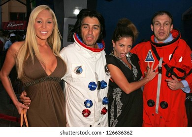 """UNIVERSAL CITY - JULY 19: Mary Carey and Bridgetta Tomarchio at the Premiere Screening of """"Light Years Away"""" at Universal City Walk Cinemas July 19, 2006 in Universal City, CA"""