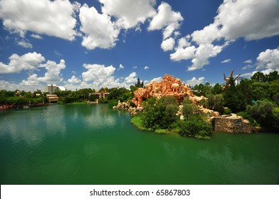 Universal Orlando Resort - elevated view