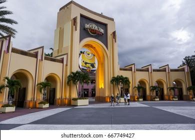 Universal Studios on 6/21/2017. Universal Studios is a theme park resort in Orlando, Florida, USA.