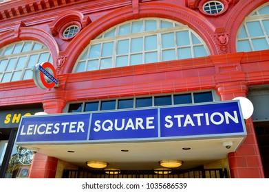 Universal Studios Resort, Orlando, Florida, USA - October 24, 2016: Leicester Square Train Station in Universal Studios Resort Orlando