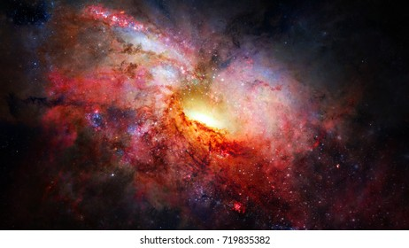Universe scene with nebulae, stars and galaxies in outer space showing the beauty of space exploration. Elements of this image furnished by NASA.