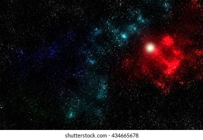 Universe space abstract background, digital graphic resource
