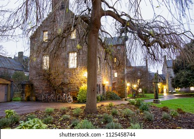 University in Aberdeen, Scotland, evening shot.