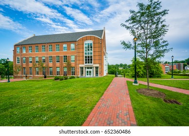 The University Academic Building at Notre Dame of Maryland University in Baltimore, Maryland.