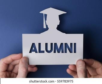 University alumni graduate education message