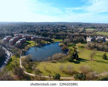University of Birmingham and its surroundings,