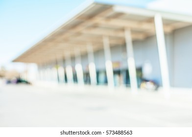 university blurred background