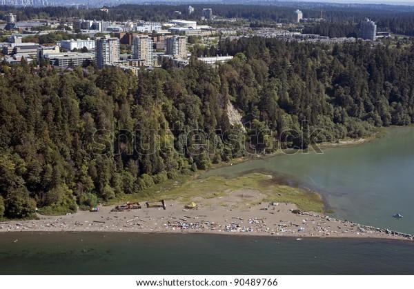 University of British Columbia and Wreck Beach