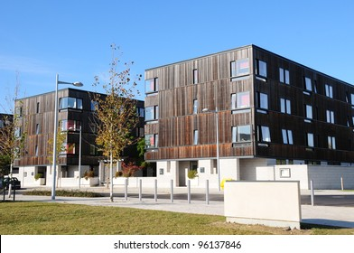 University of Cambridge residences (Franklin court and Fawcett court) on the West Cambridge site