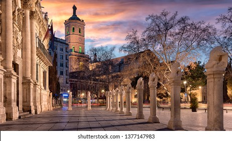 University and Cathedral in Valladolid (Spain)