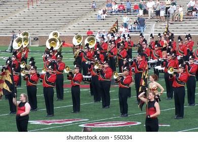 University of Cincinnati marching band