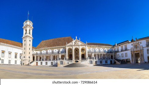 The University of Coimbra, Portugal in a beautiful summer day