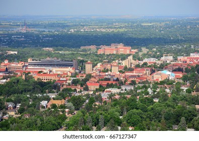 University of Colorado Boulder Campus on a Sunny Day