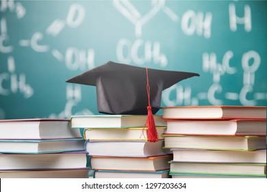 University degree master academy concept diploma graduation