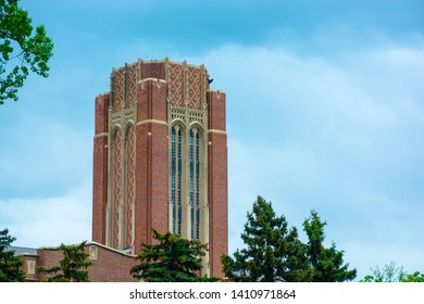 University of Denver campus in Denver, Colorado during the day