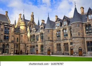 University of Glasgow, the East Quadrangle of the Main Building.