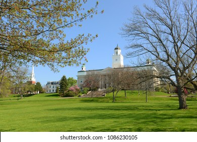 University Hall of Acadia University, Wolfville, Nova Scotia, Canada.
