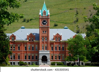 University Hall has been a landmark building on the University of Montana campus in Missoula since 1898.