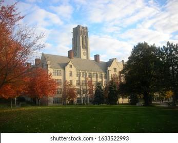 University Hall at The University of Toledo in Toledo, Ohio
