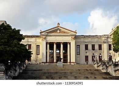University of Havana in the capital of Cuba.
