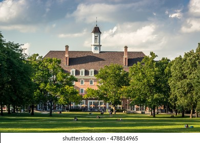 University of Illinois at Urbana Champaign (UIUC), Illini Union, view from main quad