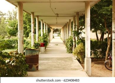 University of Karachi - Empty Arts Lobby 25/09/2012