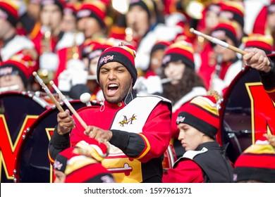 University of Maryland Band - NCAA Division 1 Football University of Maryland Terrapins  Vs. Ohio State Buckeyes on November 11th 2019 at the Ohio State Stadium in Columbus, Ohio USA