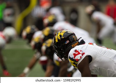 University of Maryland Terrapins - NCAA Division 1 Football University of Maryland Terrapins  Vs. Ohio State Buckeyes on November 11th 2019 at the Ohio State Stadium in Columbus, Ohio USA