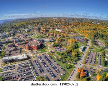 University of Minnesota in the City of Duluth during October