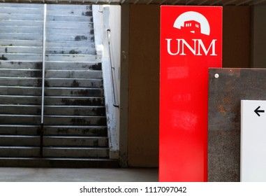 University Of New Mexico Sign Summer 2018