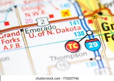 University of North Dakota. North Dakota. USA