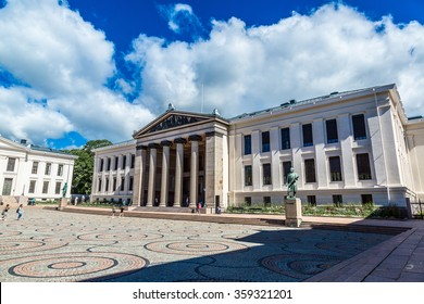 The University of Oslo is the oldest university in Norway in Oslo in a summer