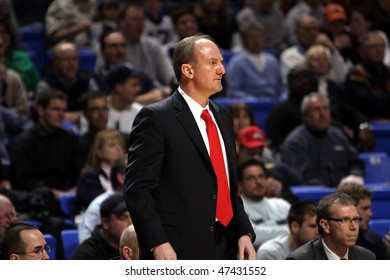 UNIVERSITY PARK, PA - FEBRUARY 24: Ohio State coach Thad Motta watches the action during a game against Penn State at the Byrce Jordan Center February 24, 2010 in University Park, PA