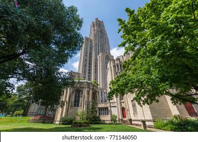 University of Pittsburgh, Pennsylvania in North Oakland
