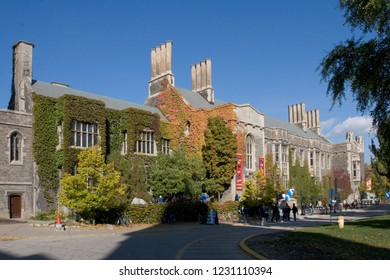 University of Toronto in fall