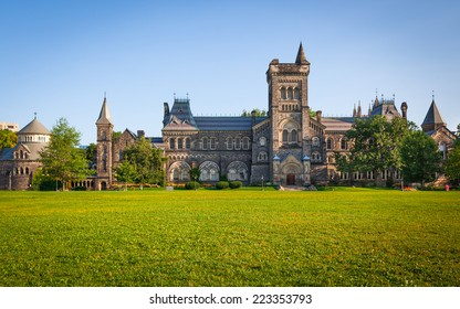 The University of Toronto and the Front Campus