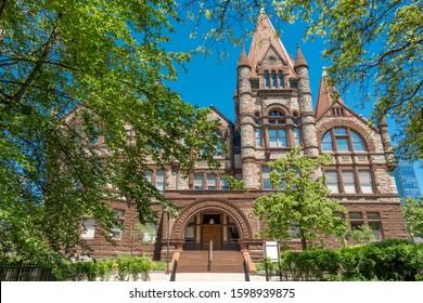 University of Toronto at spring, Victoria College, Ontario, Canada