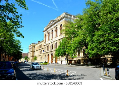 University of the town Cluj-Napoca, Transylvania. Cluj Napoca is nice transylvanian town with 600.000 inhabitants, build on the ruins of an old roman town.