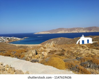 Unknown special place in the Cyclades islands.