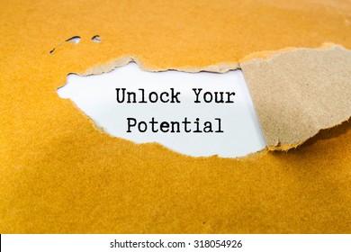 Entfesseln Sie Ihr potenzielles Konzept