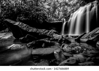 a unnamed Falls located in the heart of Appalachia