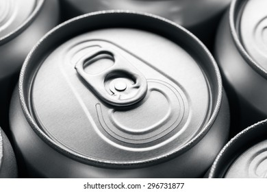 Unopened soda can